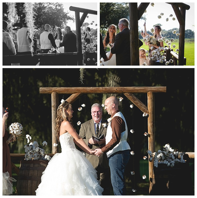 Lakeland barn wedding